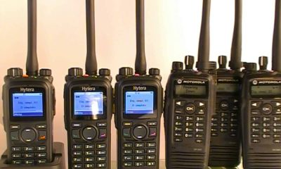 Motorola walkie talkies
